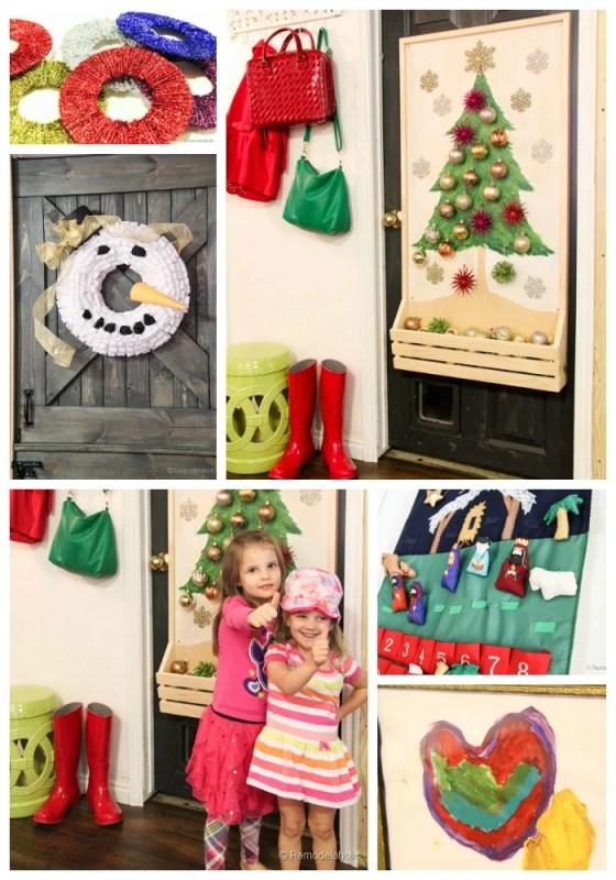 kids Christmas decorating detail ideas