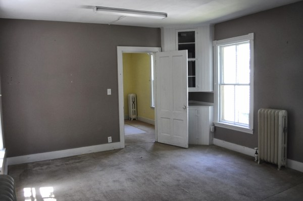 new englander dining room before, SoPo Cottage featured on Remodelaholic