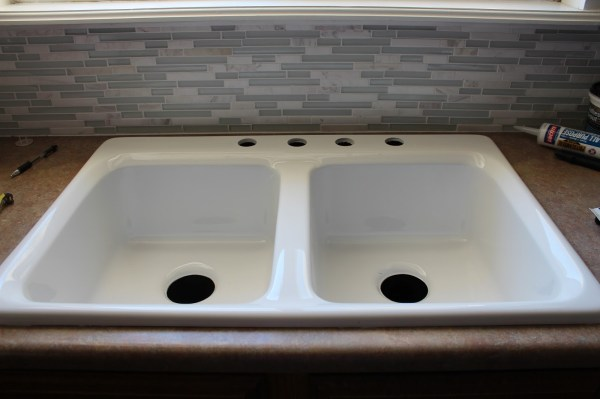 new kitchen sink, House For Five featured on Remodelaholic