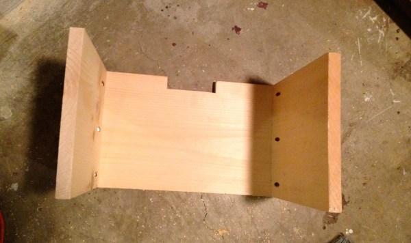 build a media shelf wooden drawer