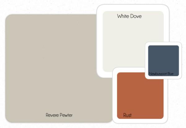 color pallete on remodelaholic.com