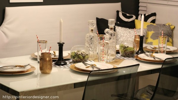 dining table banquette, Pinterior Designer featured on Remodelaholic