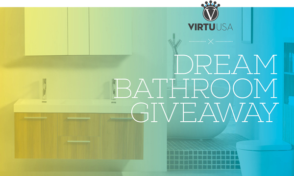 dreeeam bathroom giveaway virtu USA