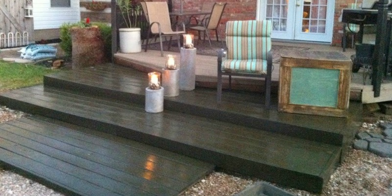 Remodelaholic Build Wooden Pallet Deck For Under