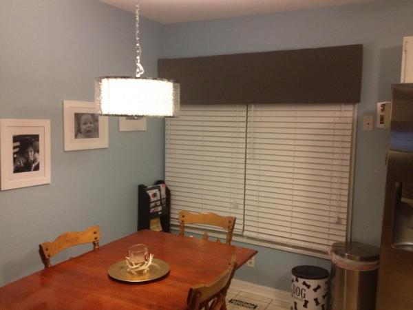 kitchen before banquette, Pinterior Designer featured on Remodelaholic