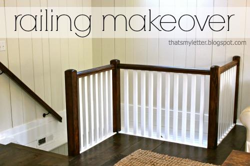 railing makeover 4