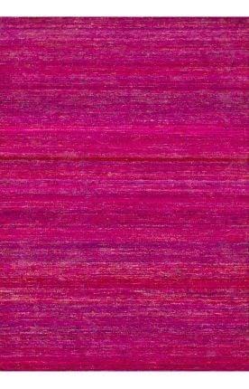 vibrant pink rug