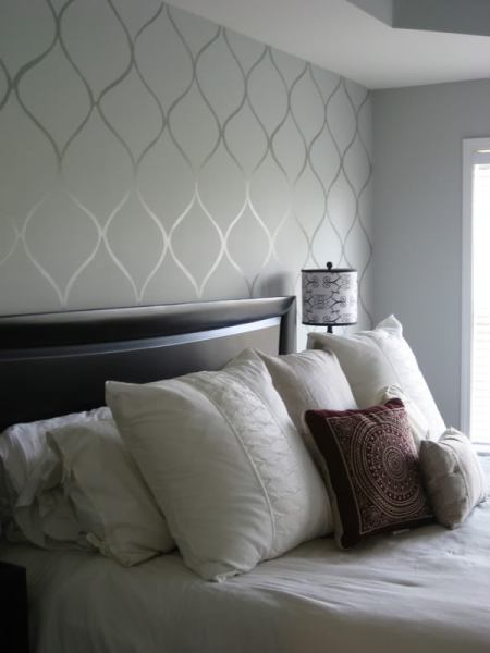subtle painted feature wall, KFD Designs
