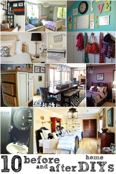 02-14 10 Great Before and After Home DIYs via Remodelaholic
