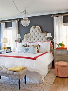 elegant eclectic bedroom thumb