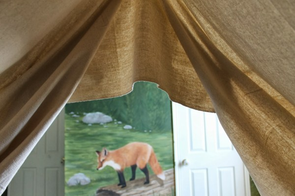 kids bed canopy, The Ragged Wren on Remodelaholic