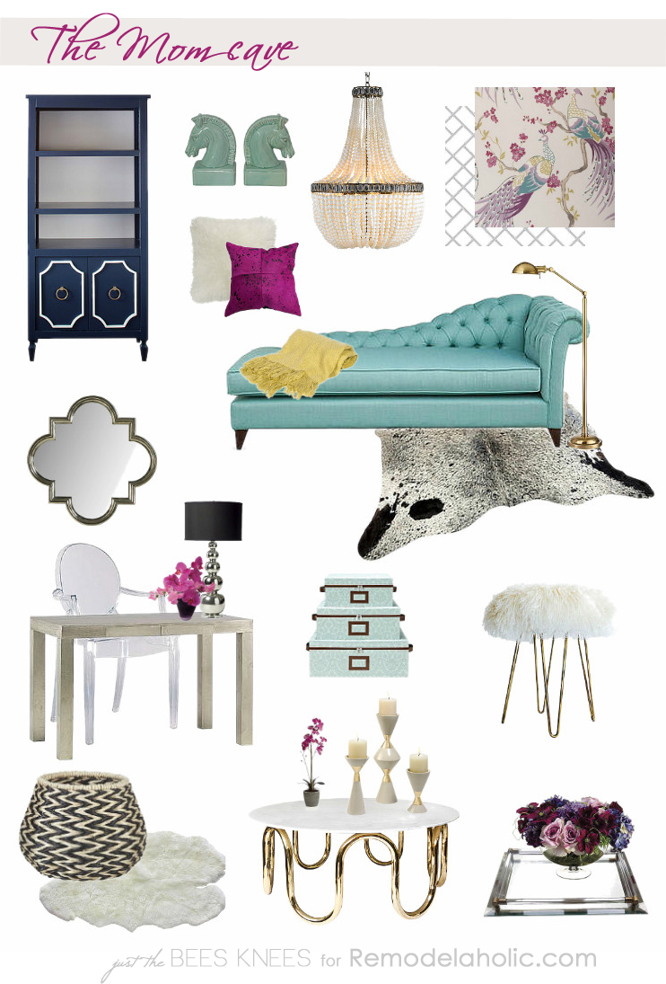 Creating a Mom cave on Remodelaholic.com