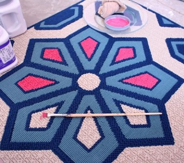 Painting a Rug