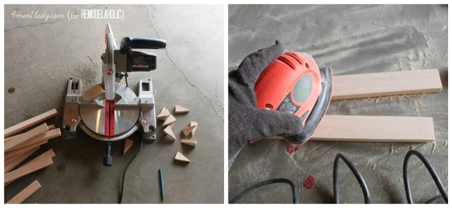 Tools needed for wood door mat