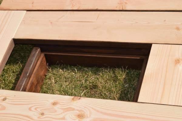 add skirting to ice box frames on patio table 4, Kruse's Workshop on Remodelaholic
