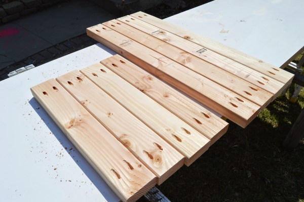 build patio table ice box frames 2, Kruse's Workshop on Remodelaholic