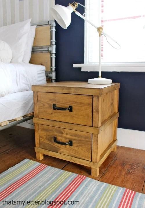 handsome nightstand