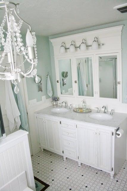 master bathroom makeover, Batchelor's Way