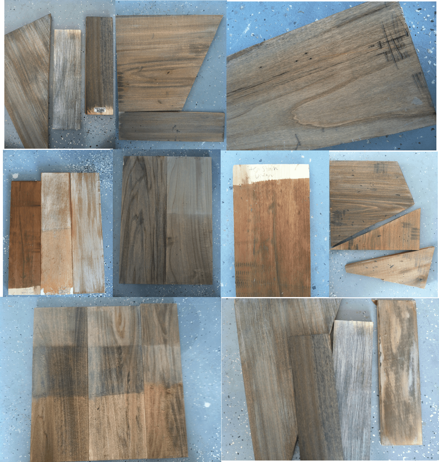 Stain Faux Reclaimed Wood Countertops, The Ragged Wren On Remodelaholic