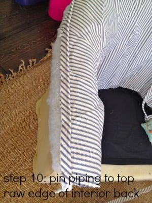 tub chair step 10