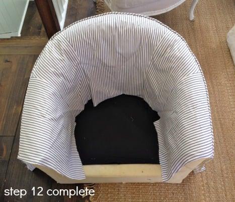 tub chair step 12-2
