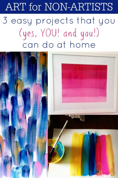 Easy Art Ideas for Kids Room Decor: 3 easy diy art projects that you can do at home