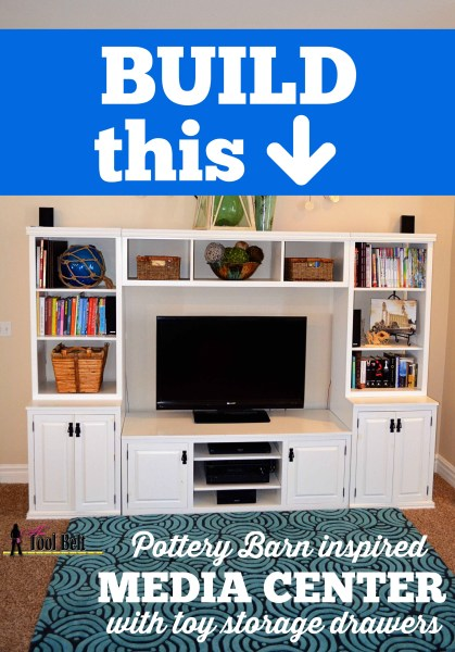 Build a Pottery Barn media center