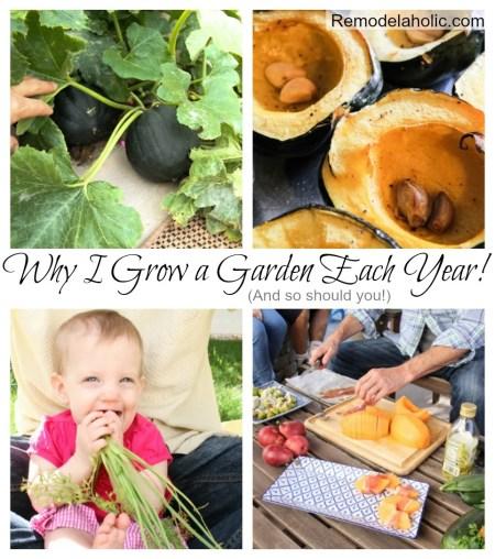 Why we grow a Garden #family #health