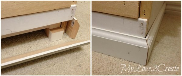 add moulding to finish master closet towers and storage, My Love 2 Create on Remodelaholic