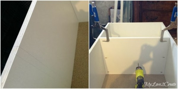 adding shelves to master closet makeover, My Love 2 Create on Remodelaholic