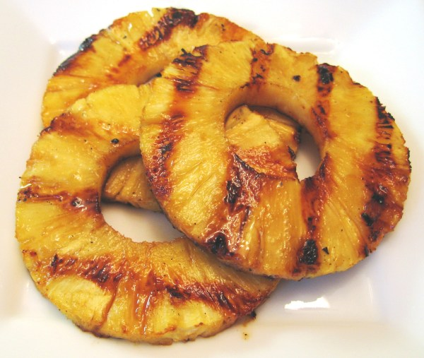 grilled pineapple perfect for a side dish or dessert featured on remodelaholic.com