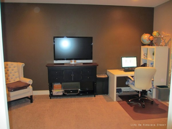 home office before, Life on Virginia Street on Remodelaholic