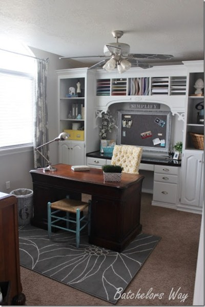 home office redo on a budget