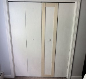 Remodelaholic Bi Fold To Paneled French Door Closet Makeover