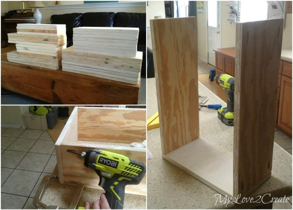 making drawers for master closet renovation, My Love 2 Create on Remodelaholic