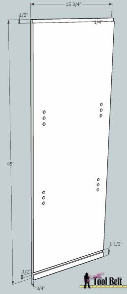 media center building plans - bookshelf 3, Her Tool Belt on Remodelaholic