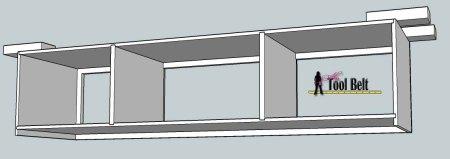 media center building plans - bridge assembly 1, Her Tool Belt on Remodelaholic