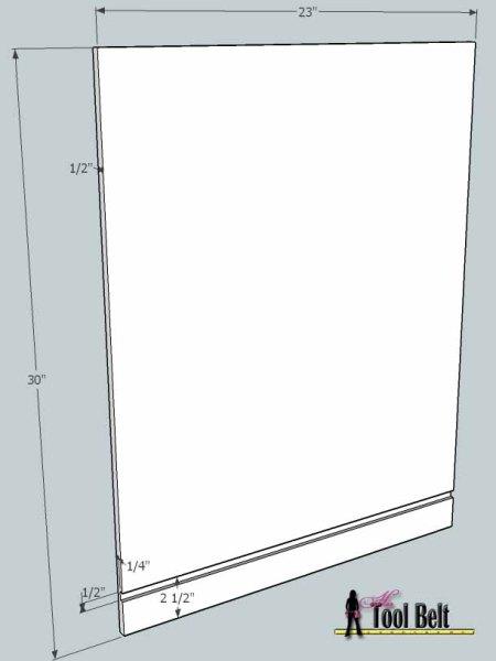 media center building plans - cabinets 4, Her Tool Belt on Remodelaholic