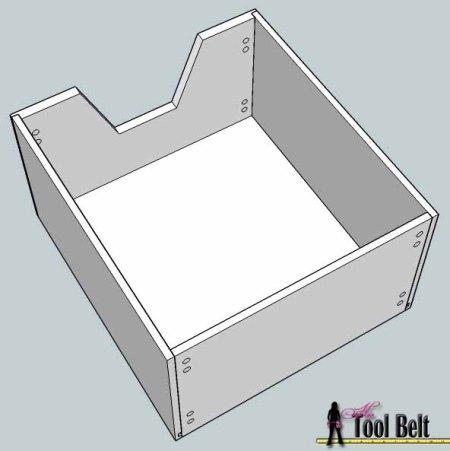 media center building plans - cabinets drawers 8, Her Tool Belt on Remodelaholic
