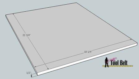 media center building plans - tv console 4, Her Tool Belt on Remodelaholic
