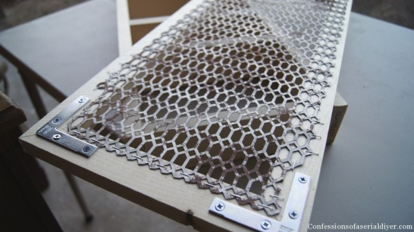metal grate spice cabinet door, Confessions of a Serial DIYer on Remodelaholic