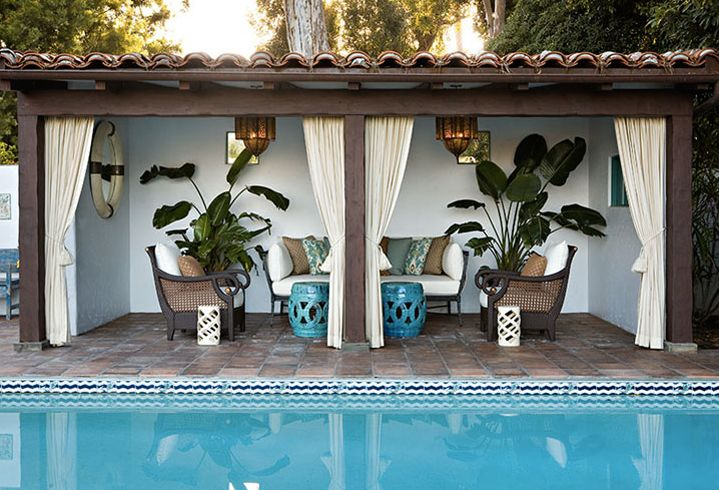 Remodelaholic | Cabana Style ~ Bringing the Resort into ... on Cabana Designs Ideas id=60751