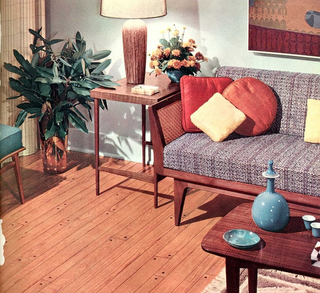 mid-century modern living room by army.arch on Flickr