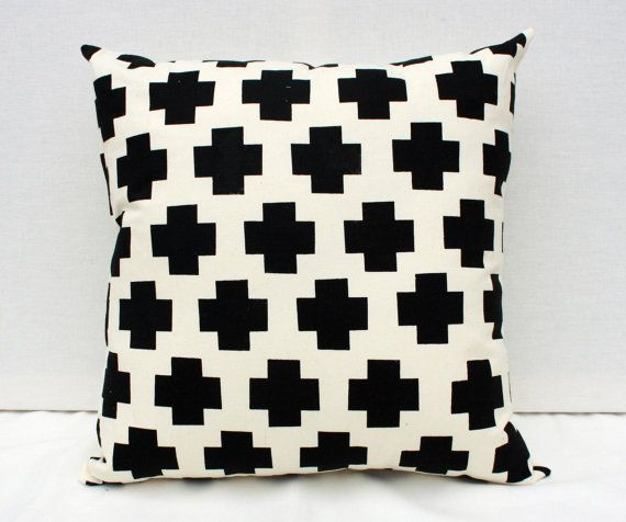 Black Pillow Etsy  via Remodelaholic.com