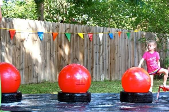 DIY Backyard Wipeout