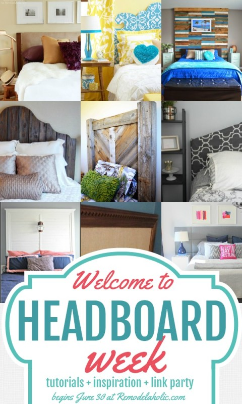 Headboard Week at Remodelaholic