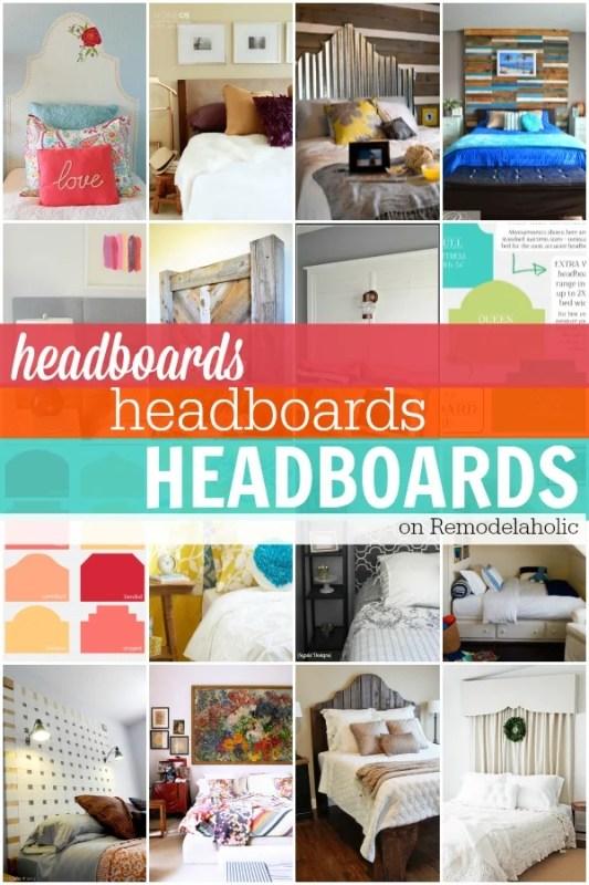 Headboards on Remodelaholic