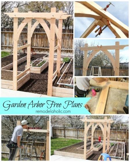 Vegetable-Garden-Arbor-DIY-Plans-remodelaholic-600x743