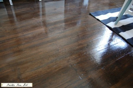faux wood plank flooring