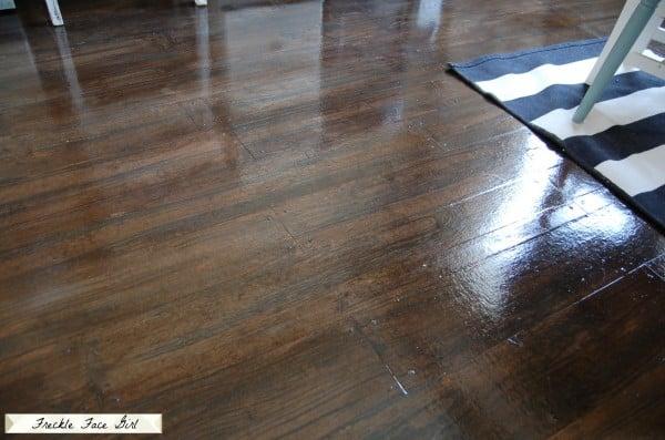 faux wood plank flooring